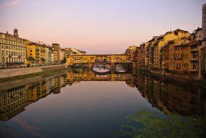 Panoramique du Ponte Vecchio